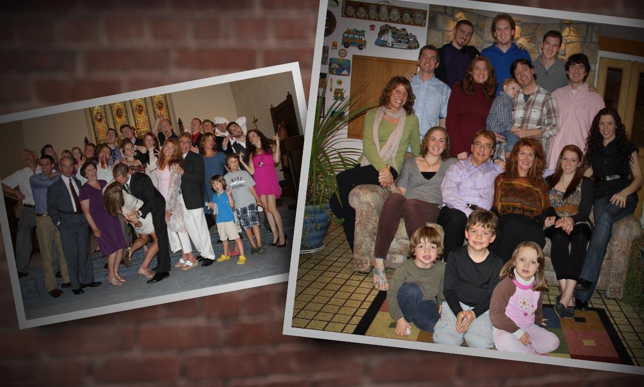 About Nick Sal, Nick Salvatoriello, big family bio
