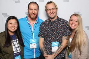 Nick Salvatoriello, Ben, Katherine and Kayla from Media Junction at StoryBrand Guide Certification, Nashville 2020