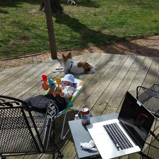 Spring weather allows more outside time. 2016-04-09_12.30.11.jpg