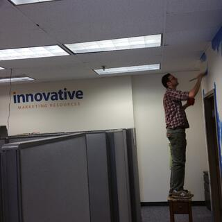 Team office improvements at IMR Corp HQ
