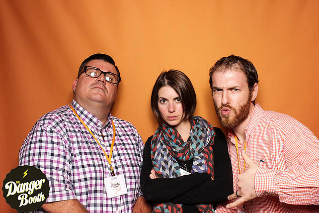 HubspotPartnerDay2016-TheDangerBooth-Serious-George-Angela-Nick.jpg