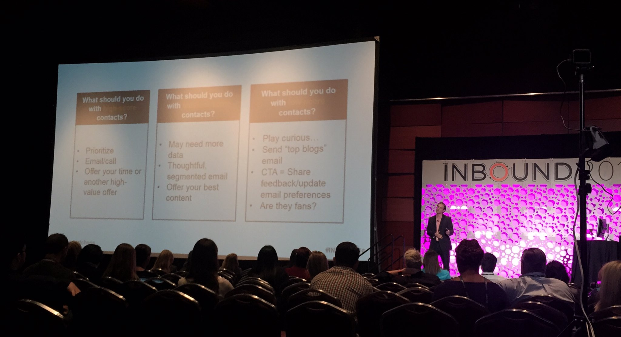 Nov 16 - Nick presenting tips to engage contacts based on score, INBOUND16.jpg-large.jpeg