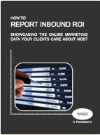 How to Report Inbound ROI Ebook by HubSpot